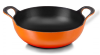 PLAT BALTI EN FONTE LE CREUSET 24 CM - ORANGE VOLCANIQUE