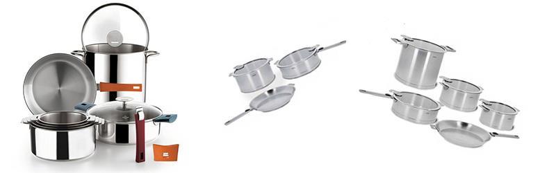 Casseroles et po les cristel - Batterie de cuisine cristel ...