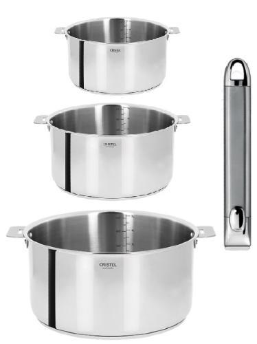 casseroles cristel pas cher de buyer casserole inox cm with casseroles cristel pas cher beka. Black Bedroom Furniture Sets. Home Design Ideas