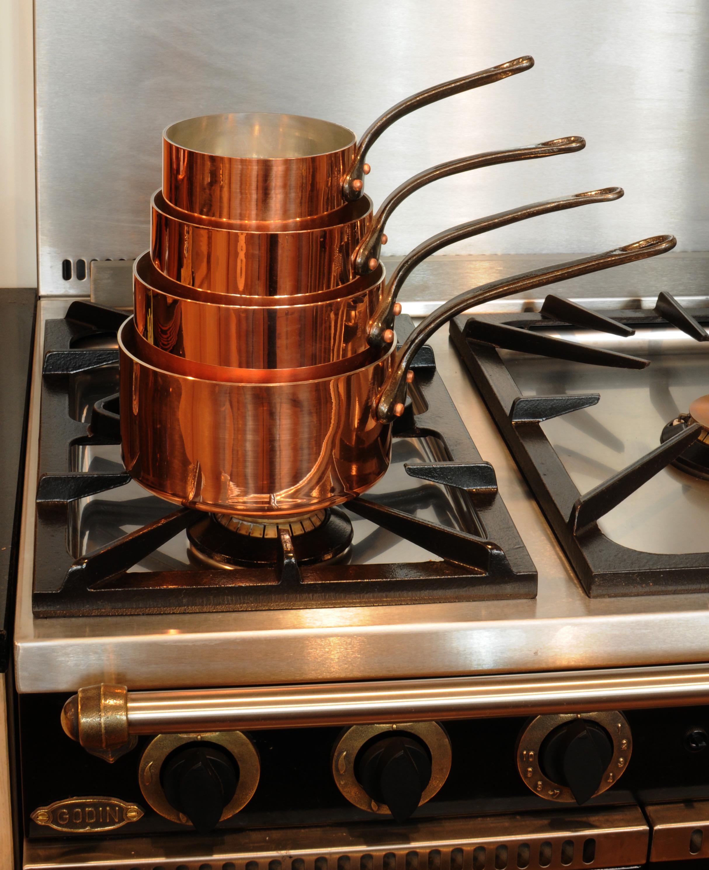 Meilleur de accessoires en cuivre pour la cuisine pkt6 for Accessoires pour la cuisine