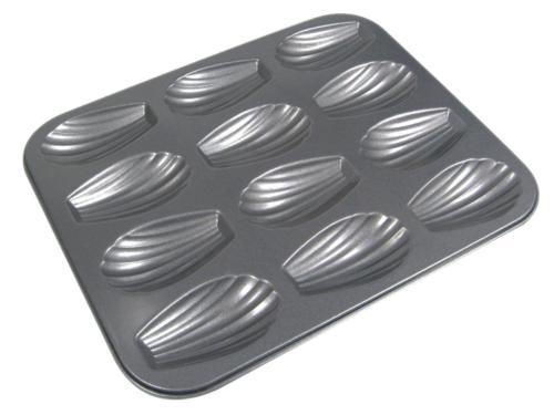 PLAQUE DE 12 MOULES - MADELEINES - DE BUYER
