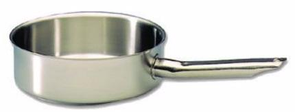 SAUTEUSE CYLINDRIQUE BOURGEAT EXCELLENCE EN INOX - 28 CM