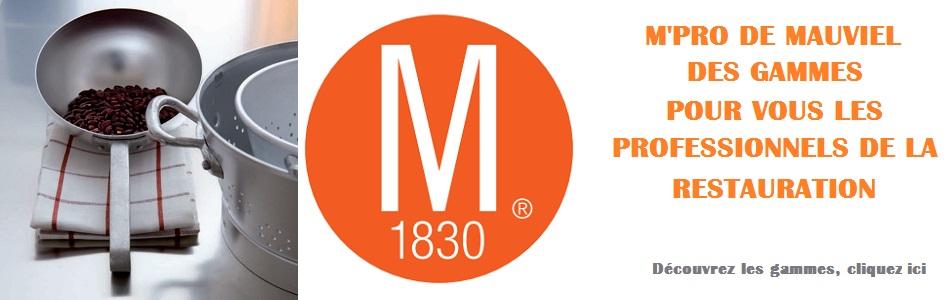 Logo mauviel for Casseroles et ustensiles culinaire
